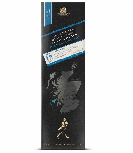 Johnnie Walker Black Label Islay Origin smoky