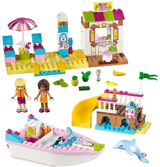 LEGO Juniors 10747 Beach holiday