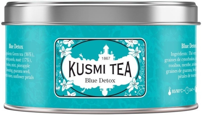 Kusmi Tea Blue Detox Tin 125g