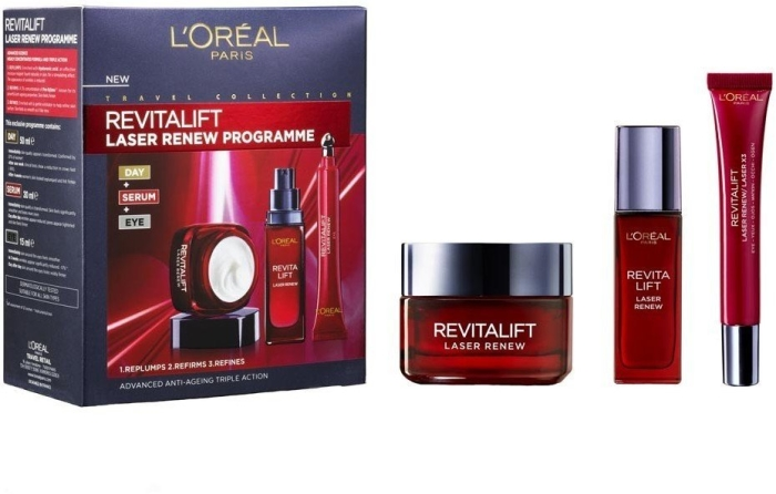 L'Oreal Revitalift Laser Programme Set 50+30+15ml