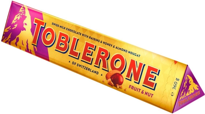 Toblerone Fruit & Nut 360 gr