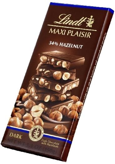 Lindt Maxi Plaisir Dark Hazelnut 150g