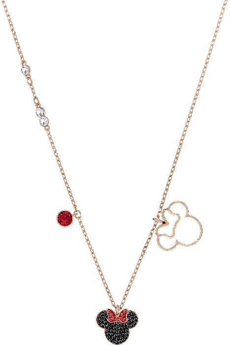 Swarovski Mickey&Minnie Necklace