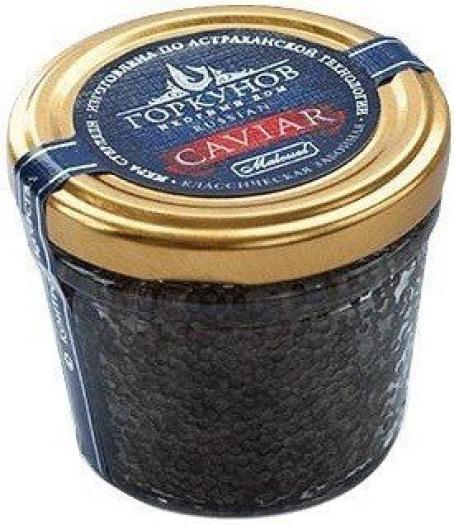 Gorkunov Sterlet Black Caviar 100g