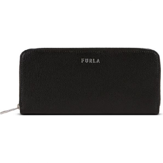 Furla Next XL Ziparound slim Wallet, Black 1056301