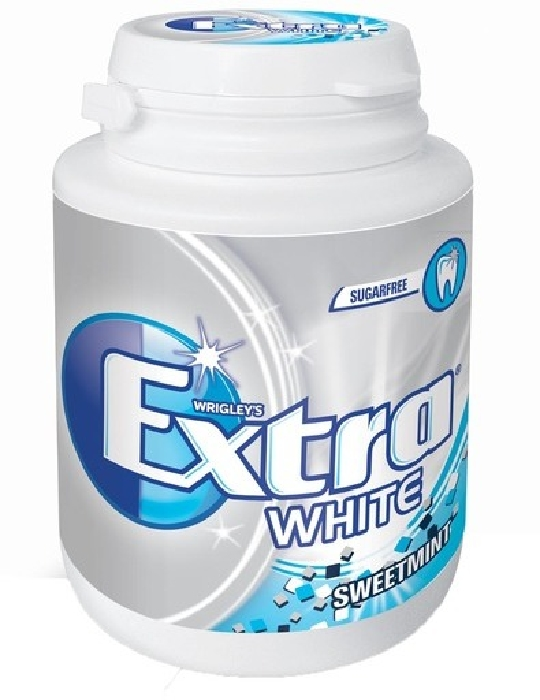 Wrigley's Extra White Sweet Mint Chewing Gum 64g