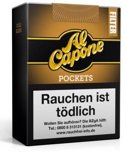 Al Capone Pockets Gold Filter 10s