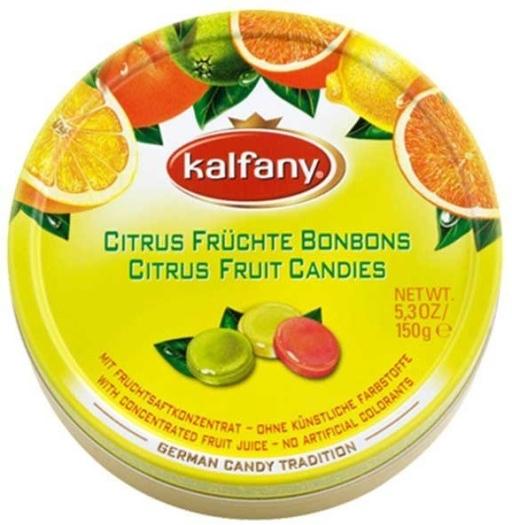 Kalfany Citrus Fruchte Bonbons 150g