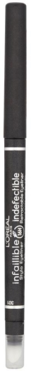 L'Oreal Infaillible Eyeliner N301 Night Day Black 6g