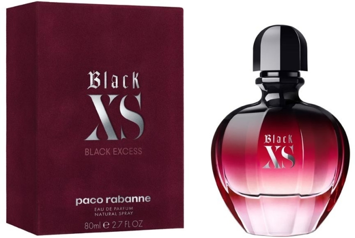 Paco Rabanne Black XS for Her Eau de Parfum EdP 80ml