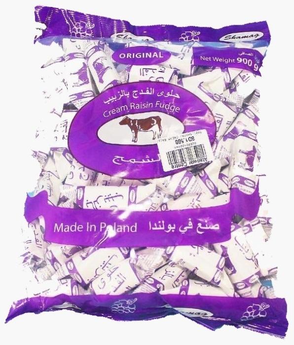 Shamag Cream Rasin Fudge 900g