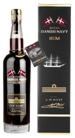 A.H. Riise Royal Danish Navy Rum 40% 0.7L
