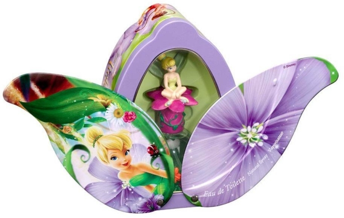 Kids World Disney's World Fairies Metallic Tin 50ml