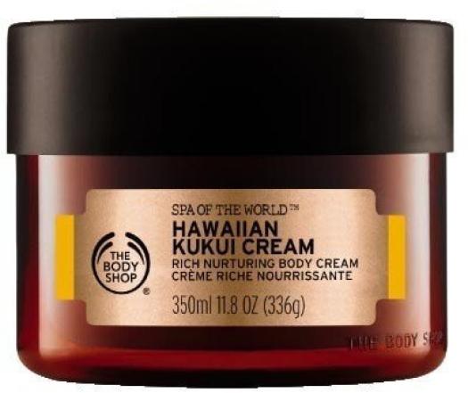 The Body Shop Spa of the World Hawaiian Kukui Body Cream 350ml