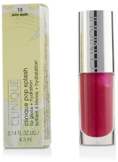 Clinique Pop Splash Hydration Lip Gloss #13 Juicy Apple 4.3ml