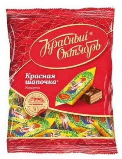 Krasny Oktyabr Sweets Little Red Riding Hood 250g