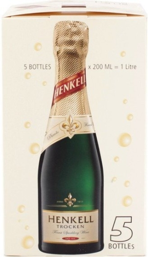 Wine kit Henkell Trocken Piccolo 5х0.2L