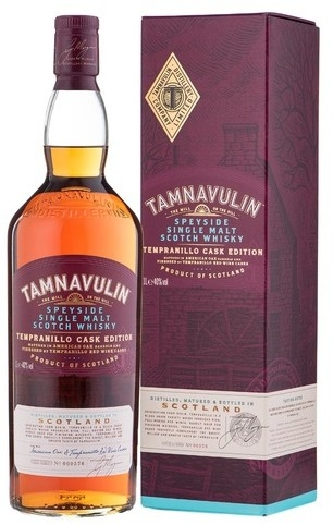 Tamnavulin Tempranillo Cask Edition, Blended Scotch Whisky 1L