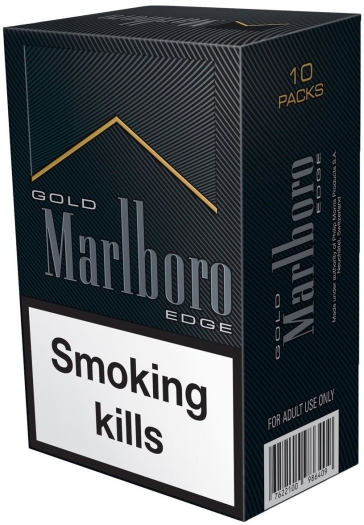 Marlboro Gold Edge Super Slims Carton