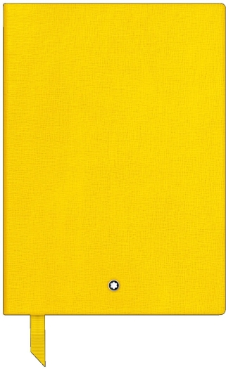 Montblanc Fine Stationery Notebook 146 Yellow