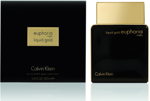 Calvin Klein Liquid Gold Euphoria Man EdP 100ml
