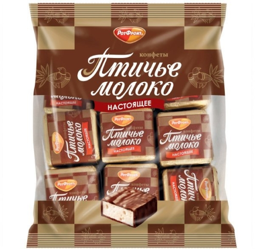 "Rot Front ""Ptichye Moloko"" Chocolate Coated Souffle 225g"