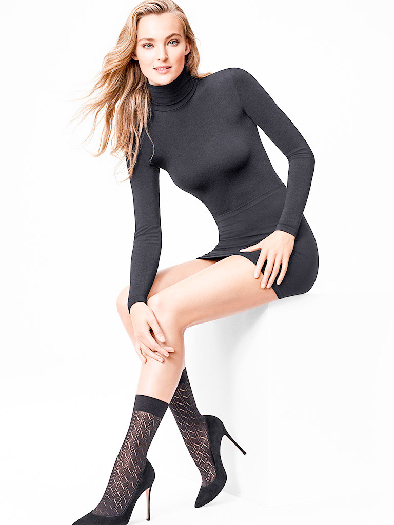 Wolford Florence Socks S