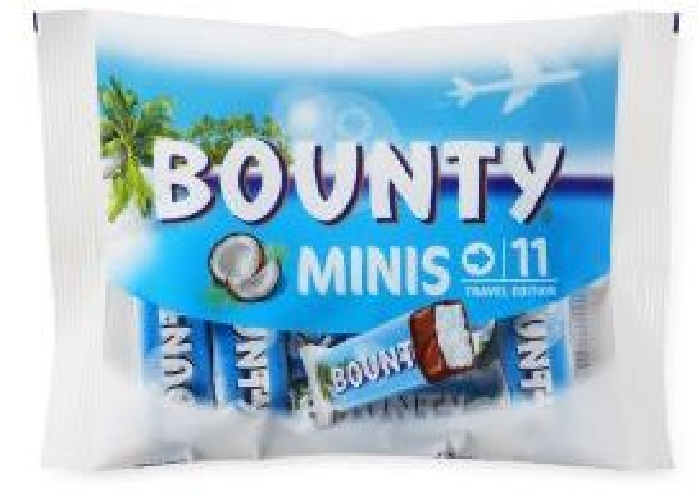 Bounty Minis Bag 333g