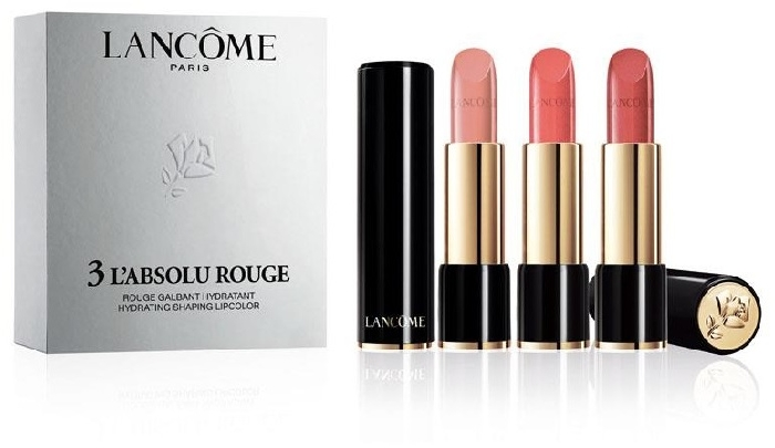 Lancome Trio L'Absolu Rouge Nude Set 3x4.2ml