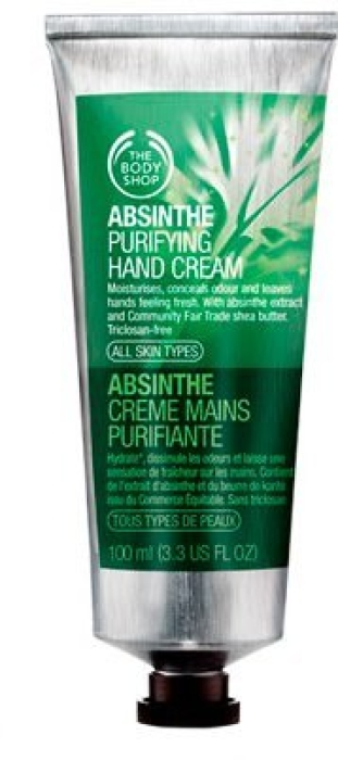 The Body Shop Absynthe Purifying Hand Cream 100ml