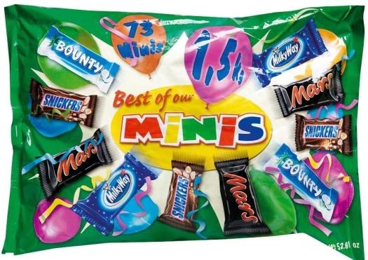 Mars Best Of Minis 1500g