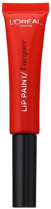 L'Oreal Paris Infaillible Paint Lipstick Lacquer N105 Red Fiction 8ml