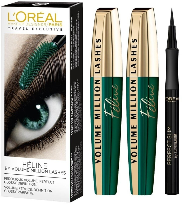 L'Oreal Million Lashes Feline Set