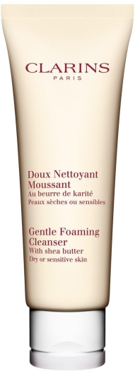 Clarins Cleansing Gentle Foaming Cleanser with Shea Butter 125ml