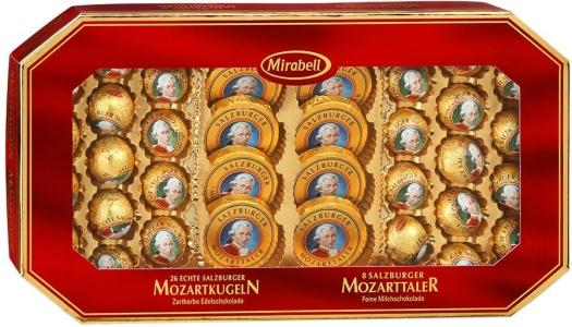 Mirabell Mozartkugeln und Mozarttaler 600 g