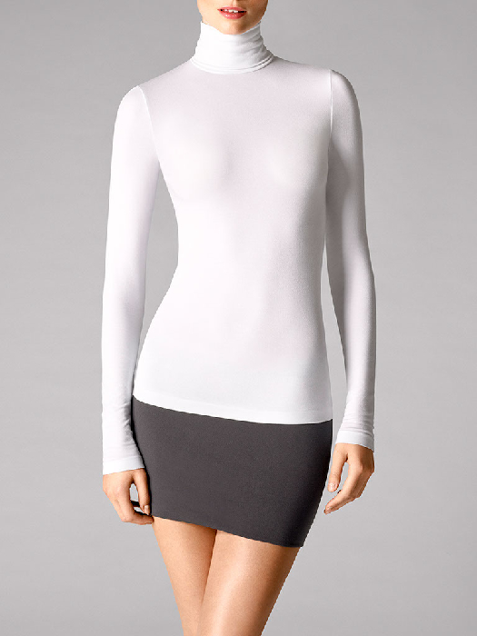 Wolford Viscose Pullover white M