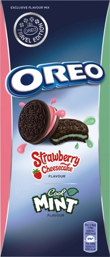 Oreo Strawberry Cheesecake Mint 308g