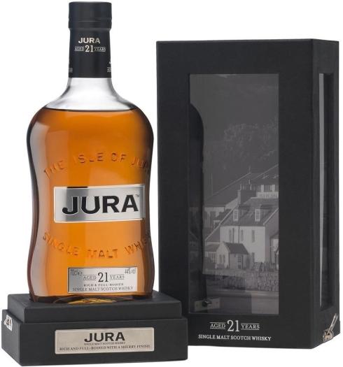 Isle of Jura Jura 21y 44% Giftpack 0.7L
