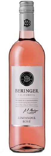 Beringer Classic, Zinfandel Rosé, California 0.75L