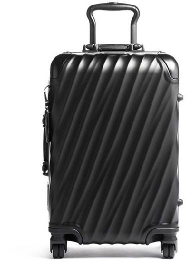 Tumi 19 Degree Aluminium Men's Suitcase, Black, 036860MD2