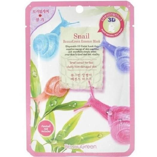 Beauugreen Mask 3D Snail 23ml