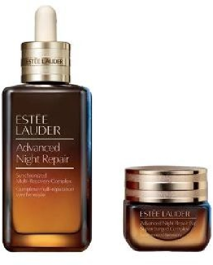 19 Crimes Estee Lauder Adv. Night Repair Set cont.: Synchr. Multi-Recovery Complex Serum 50 ml+Eye Supercharged Complex 15 ml
