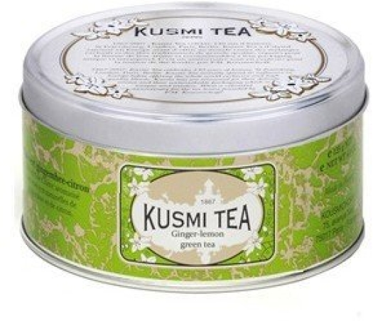 Kusmi Tea Kusmi Green Tea Ginger Lemon Tin 125g