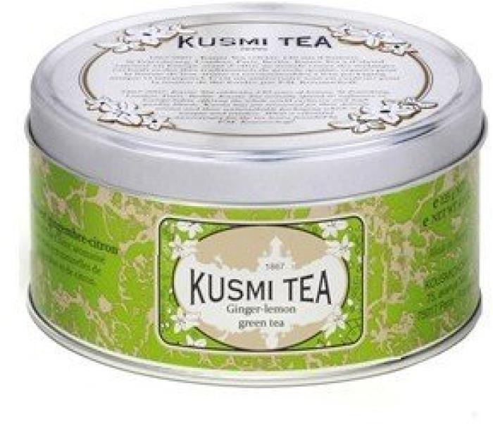 Kusmi Tea Kusmi Green Tea Ginger Lemon Tin 125g