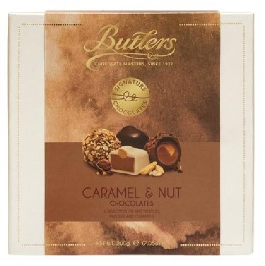 Butlers Caramel&Nut Chocolates 200G