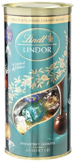 Lindt Bestseller Edition 2017 Lindor Salty Caramel 396g