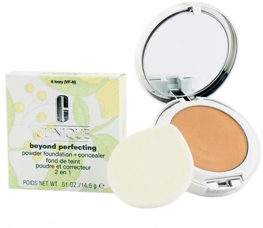 Clinique Beyond Perfecting Powder N06 Ivory 14,5g