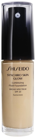 Shiseido Synchro Skin Glow Luminizing Foundation Golden 4 30ml