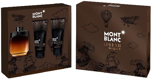 Montblanc Legend Night Gift Set 100ml+100ml+100ml
