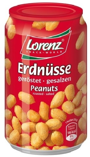 Lorenz Peanuts Erdnusse Tin 200g